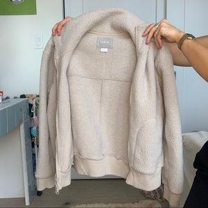Everlane Sherpa jacket